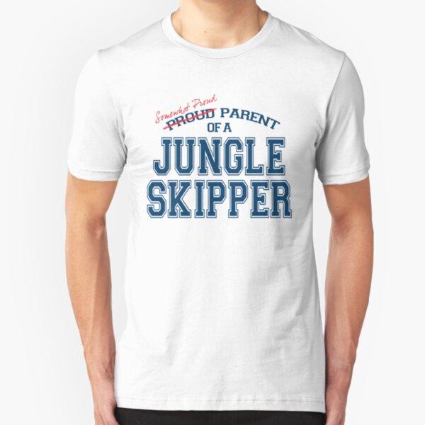 Somewhat Proud Parent of a Jungle Skipper Slim Fit T-Shirt