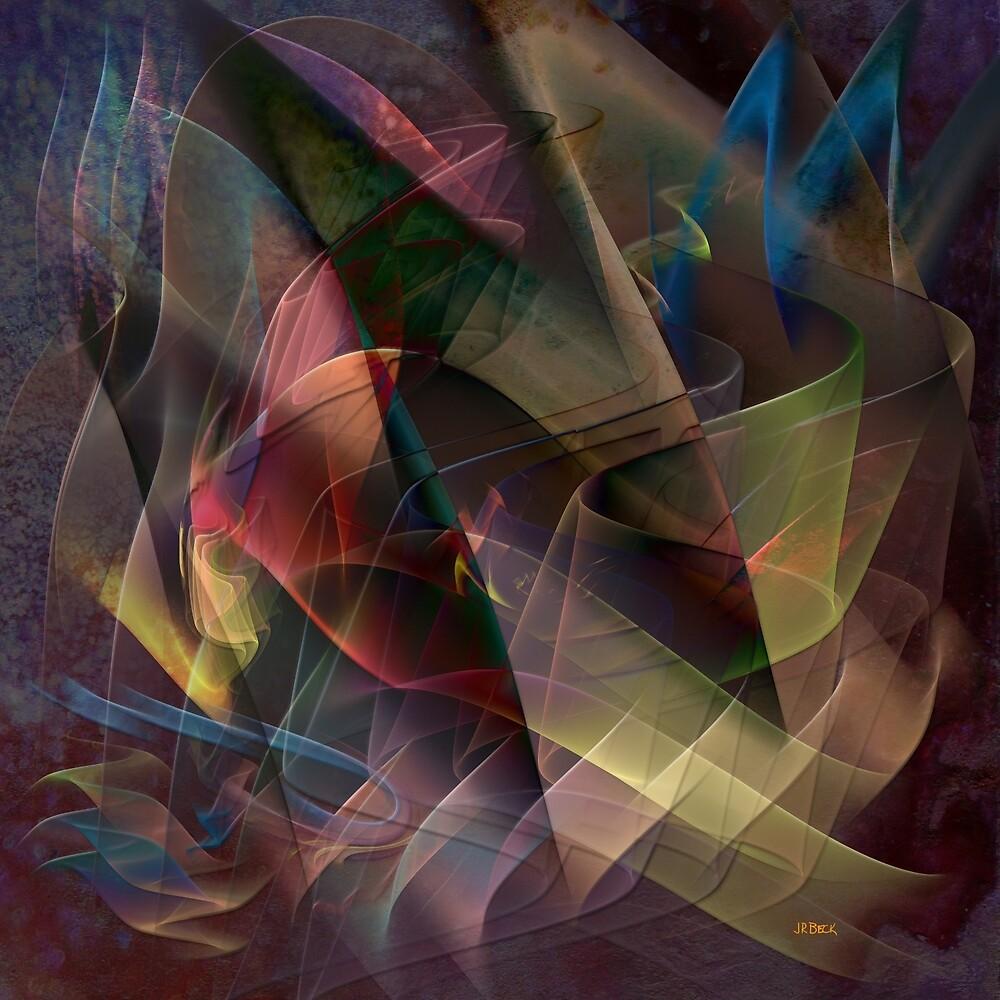 Free Falling, Part 1 (Square Version) - By John Robert Beck by studiobprints