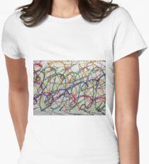 Colorful Oil Pastel Scribbles T-Shirt