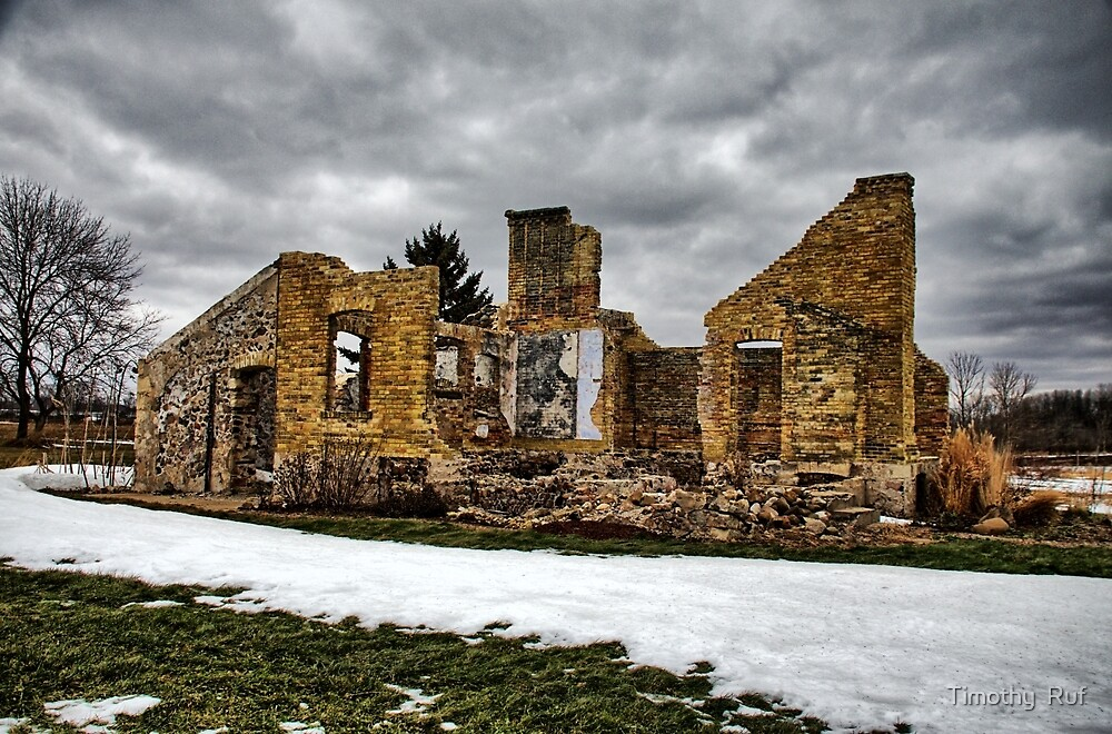 House in Ruins by Timothy  Ruf