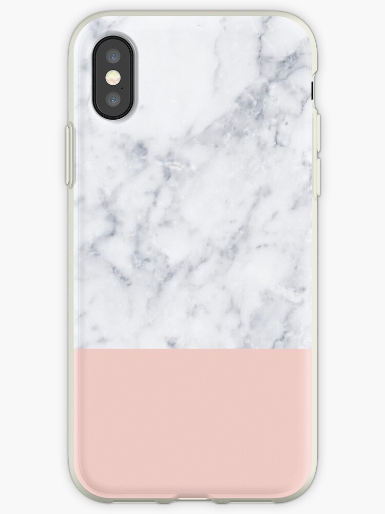 Marble On Rose Gold by Terry Goodman