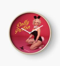 Dolly Parton - Playboy Bunny Clock