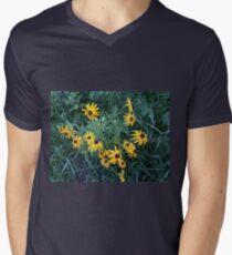 Black Eyed Susan Flowers Men's V-Neck T-Shirt