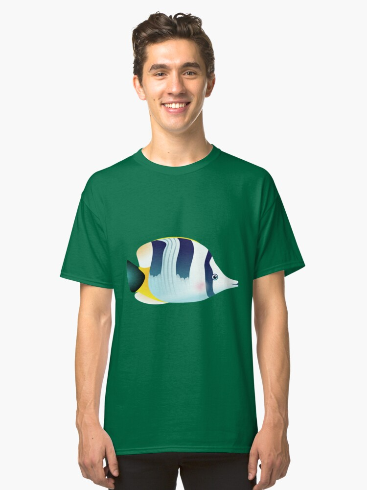 BUTTERFLYFISH 3 Classic T-Shirt Front