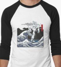 Mecha Wave Men's Baseball ¾ T-Shirt