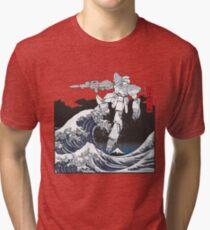 Mecha Wave Tri-blend T-Shirt