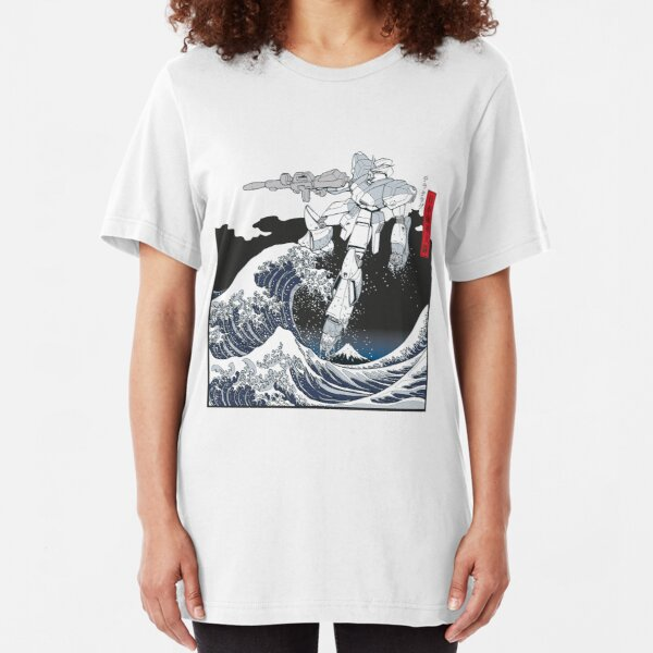 Mecha Wave Slim Fit T-Shirt