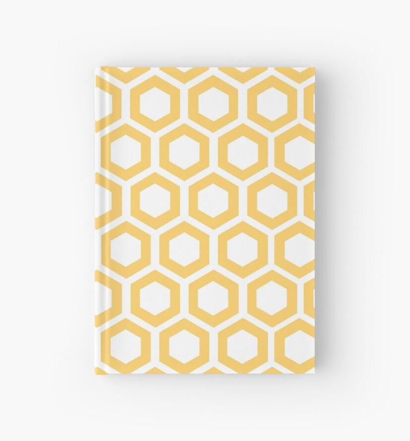 Hexagon,modern,trendy,pattern,cubes,yellow,white,elegant,chic by love999