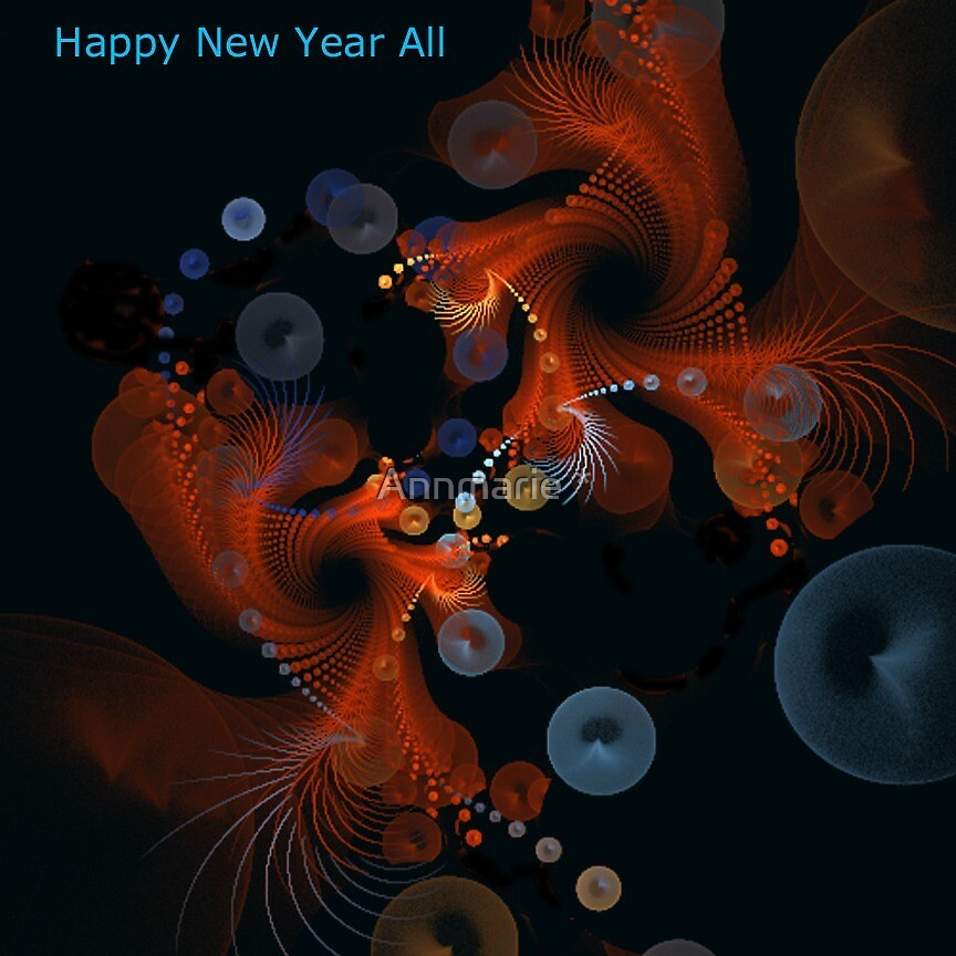 Happy New Year All by Annmarie *