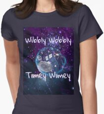 Wibbly Wobbly Women's Fitted T-Shirt