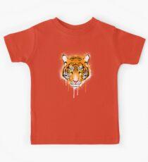 Graffiti Tiger Kids Tee