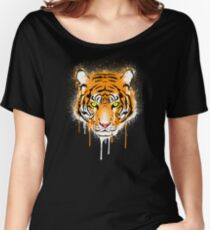 Graffiti Tiger Women's Relaxed Fit T-Shirt