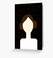 Leia Greeting Card