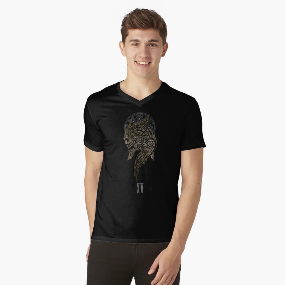 The Lucian Crest  V-Neck T-Shirt