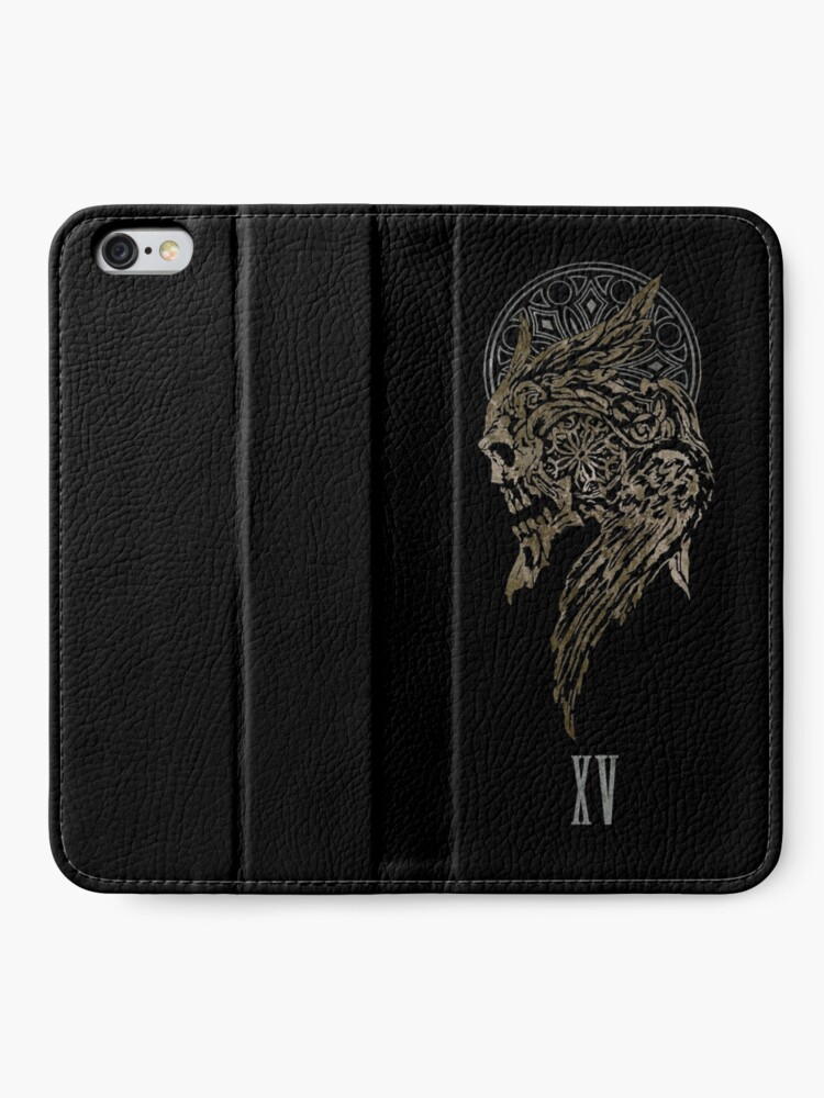Alternate view of The Lucian Crest  iPhone Wallet