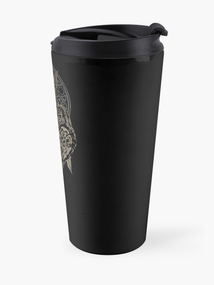 Alternate view of The Lucian Crest  Travel Mug