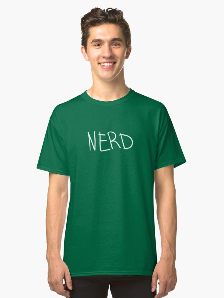 Nerd Shirt Classic T-Shirt Front