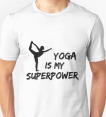 Yoga Is My Superpower T-Shirt