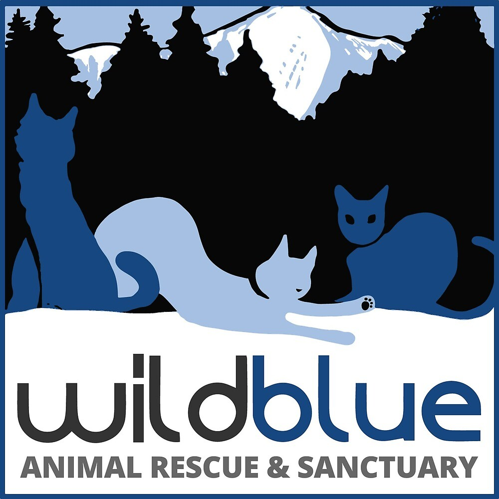 Wild Blue Animal Rescue and Sanctuary Logo by wildbluerescue