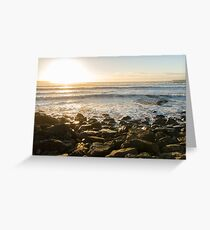 Sunset Lahinch County Clare Greeting Card
