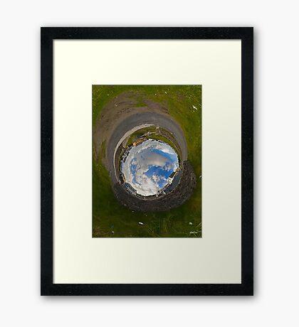 Rory's House - Tigh Ruairi (Inis Oirr Village) Framed Print