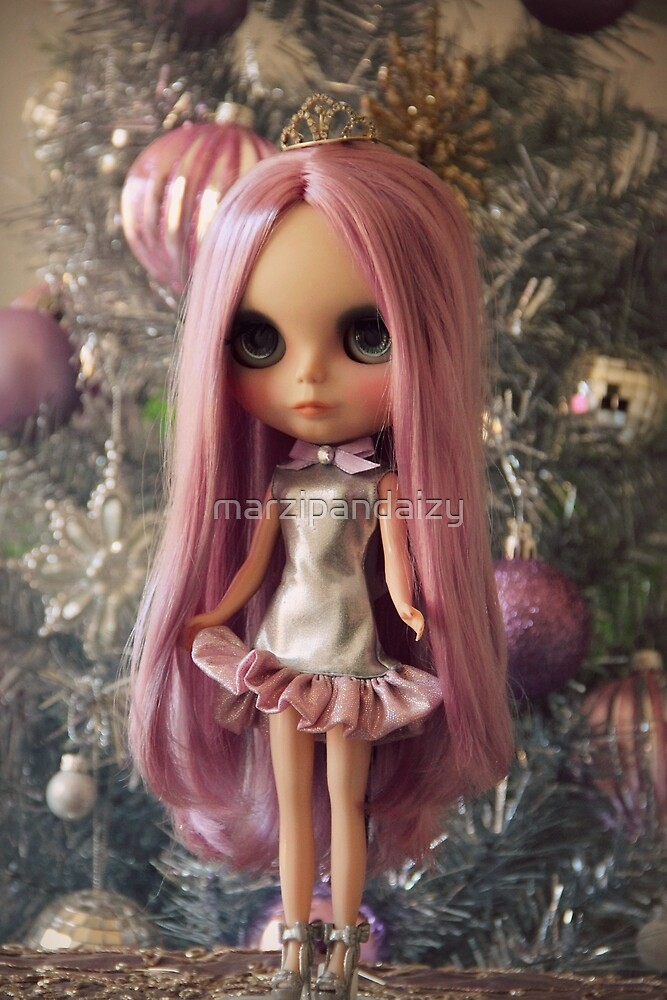 Blythe Christmas - without text by marzipandaizy
