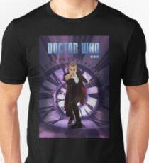 Crouching Capaldi Unisex T-Shirt