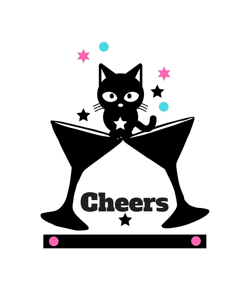 Wishing You Cheers Kitty by kimmicsts