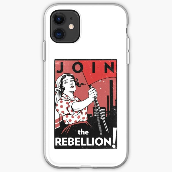 Join the Rebellion! (Vector Recreation) iPhone Soft Case