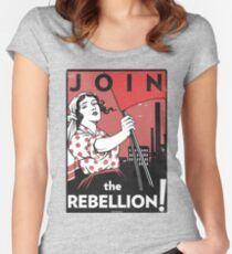 Join the Rebellion! (Vector Recreation) Women's Fitted Scoop T-Shirt