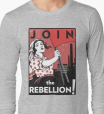 Join the Rebellion! (Vector Recreation) Long Sleeve T-Shirt