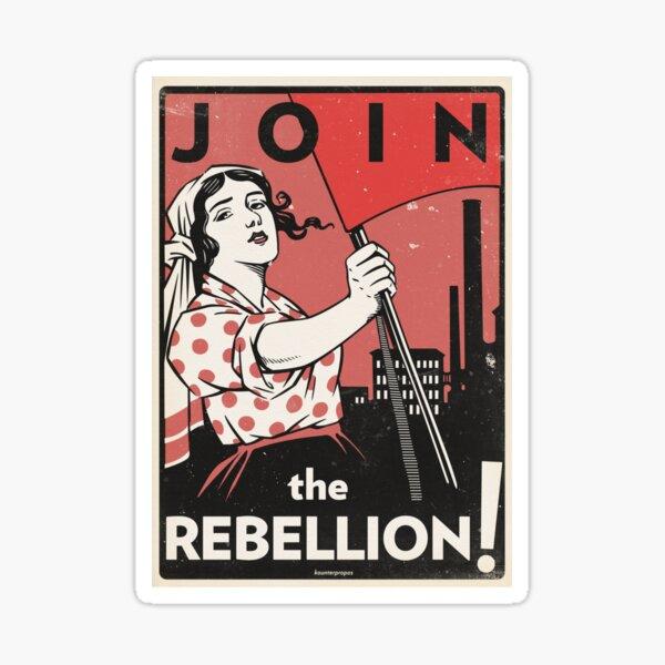 Join the Rebellion! (Vector Recreation) Sticker