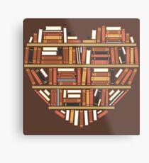 I Heart Books Metal Print