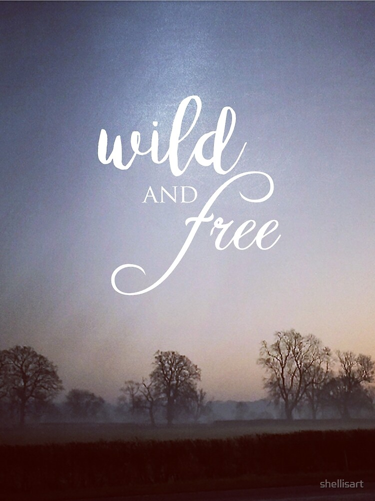 Landscape - Wild and free  by shellisart