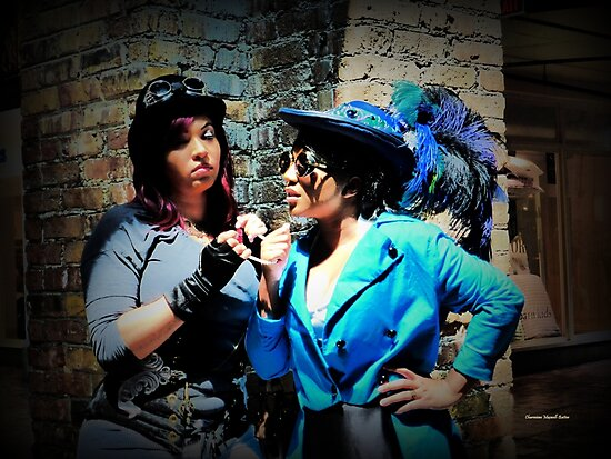 Steampunk Ladies by Charmiene Maxwell-Batten