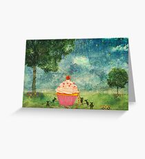The Mice & The Cupcake Greeting Card