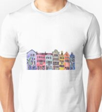 Rainbow Row – Charleston T-Shirt