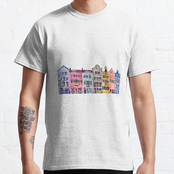 Rainbow Row – Charleston Classic T-Shirt