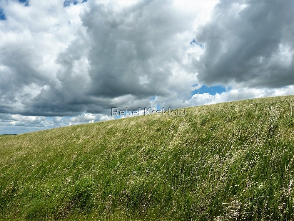 Clouds Over The Palouse - Whitman County, WA by Rebel Kreklow