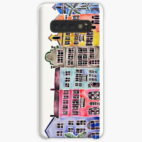 Rainbow Row – Charleston Samsung Galaxy Snap Case