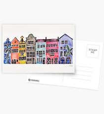 Rainbow Row – Charleston Postcards
