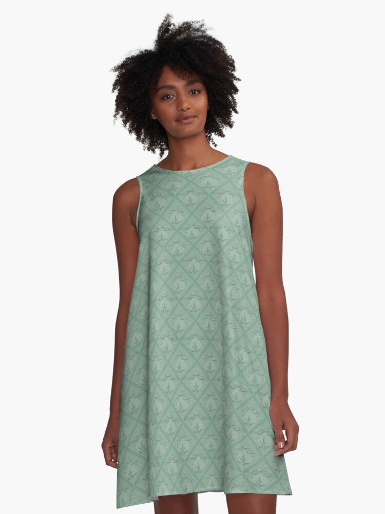 The Baltic Sea life A-Line Dress Front