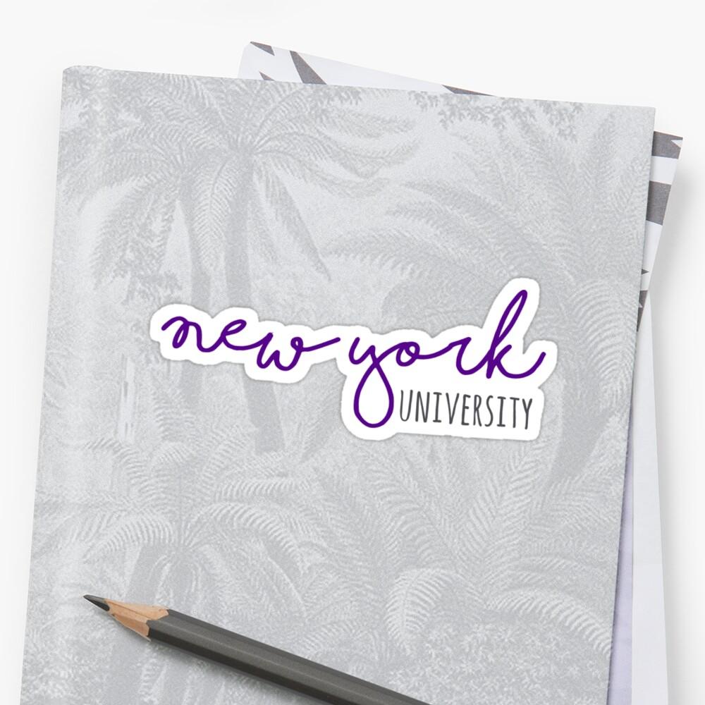 New York University by allthelove