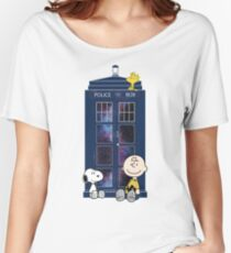 Doctor Who - Charlie Brown Women's Relaxed Fit T-Shirt