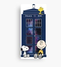 Doctor Who - Charlie Brown Canvas Print