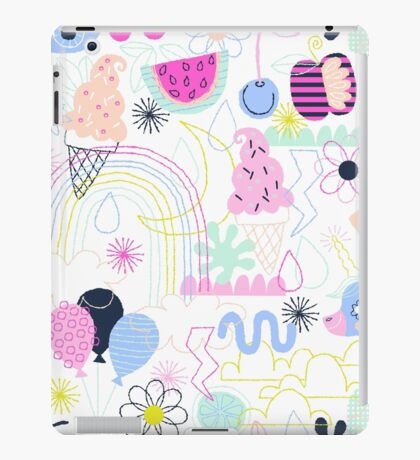 Soft Pop Summer Fun iPad Case/Skin