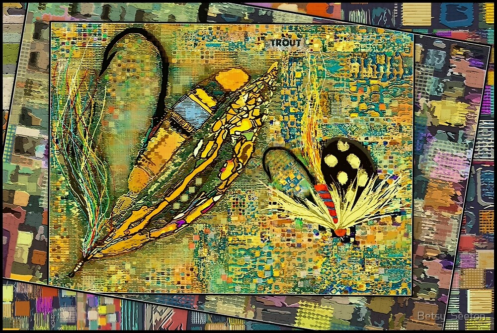 YELLOW FLIES by Betsy  Seeton