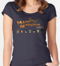 Maniac Mansion (NES) Women's Fitted Scoop T-Shirt