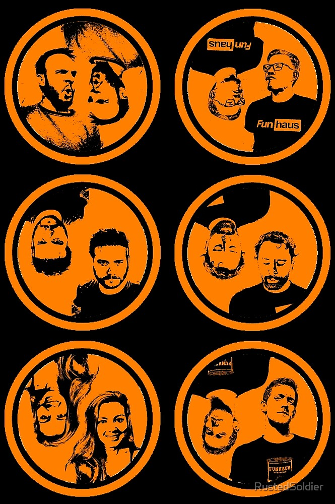 FunHaus Logos (Vertical) by RustedSoldier