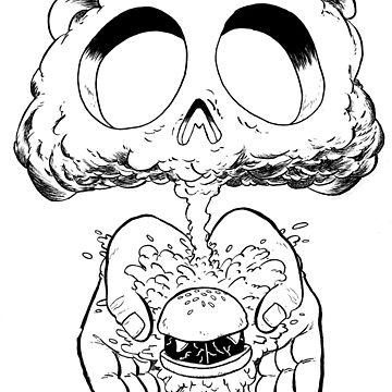 Burger Bomb by dzgreene